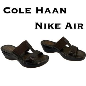 Cole Haan Nike Air Sandals EUC